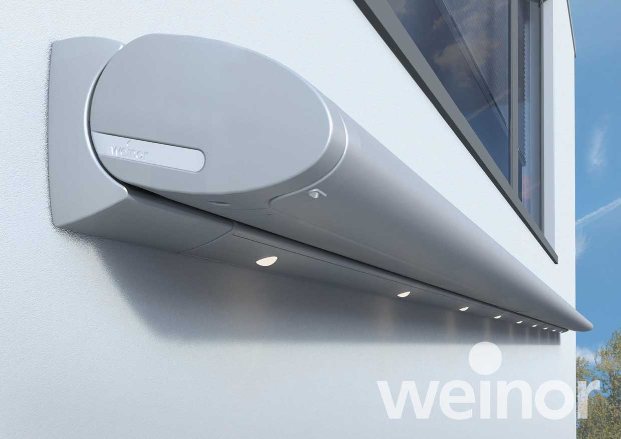 Weinor Cassita II/LED Detail