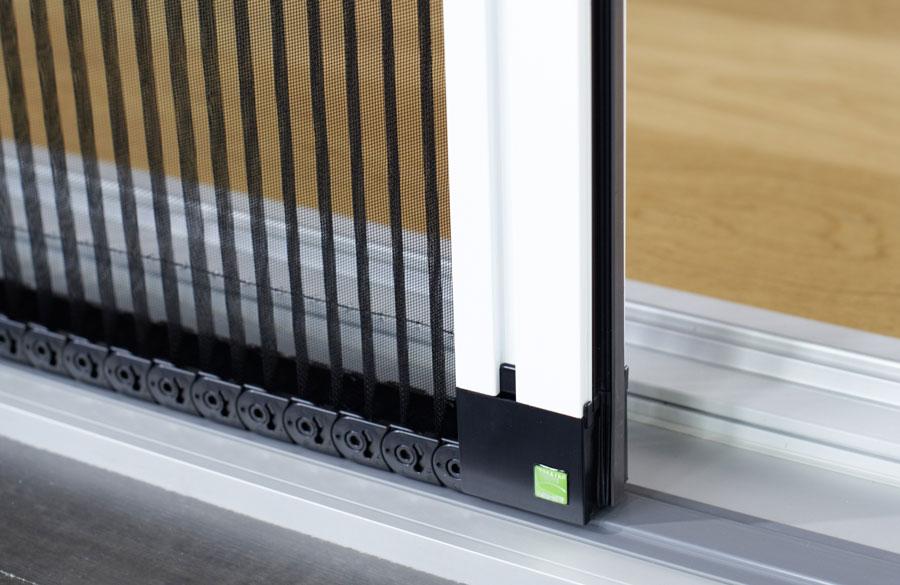 Insektenschutz Plissetüre Detail